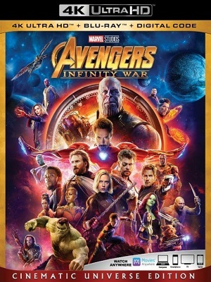 Filme Vingadores - Guerra Infinita 4K Ultra HD  Torrent