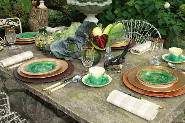 Romancing Home Vegetable Garden Table Design