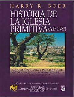 LA PDF HISTORIA PRIMITIVA IGLESIA HARRY DE BOER