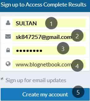 Ranksignals Backlinks Checker Se Website ke Backlinks Kaise Check kare.