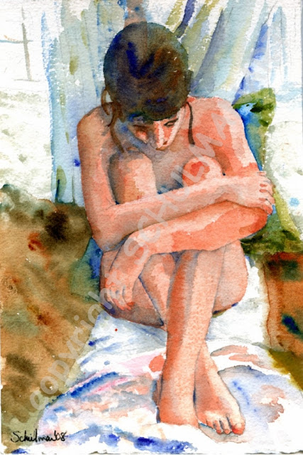 online figure painting course in watercolor :: http://schulmanart.blogspot.com/2015/06/go-figure-nude-watercolor-figure.html