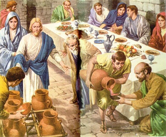 Las Bodas De Caná Juan 2 1 12 Mundo Bíblico El Estudio De Su Palabra