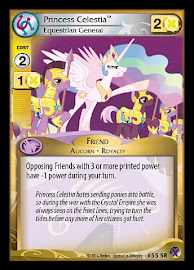 My Little Pony Princess Celestia, Equestrian General Marks in Time CCG Card