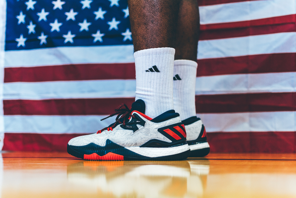 timeless design f8592 71560 Adidas unveils James Harden PEs Crazylight 2016 Liberty