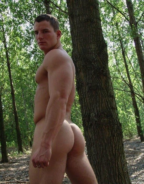 Male Naked Butt 4