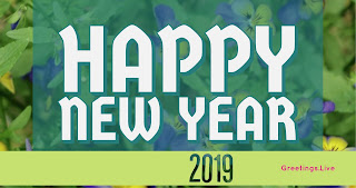 Free Happy new year 4k greetings 2019