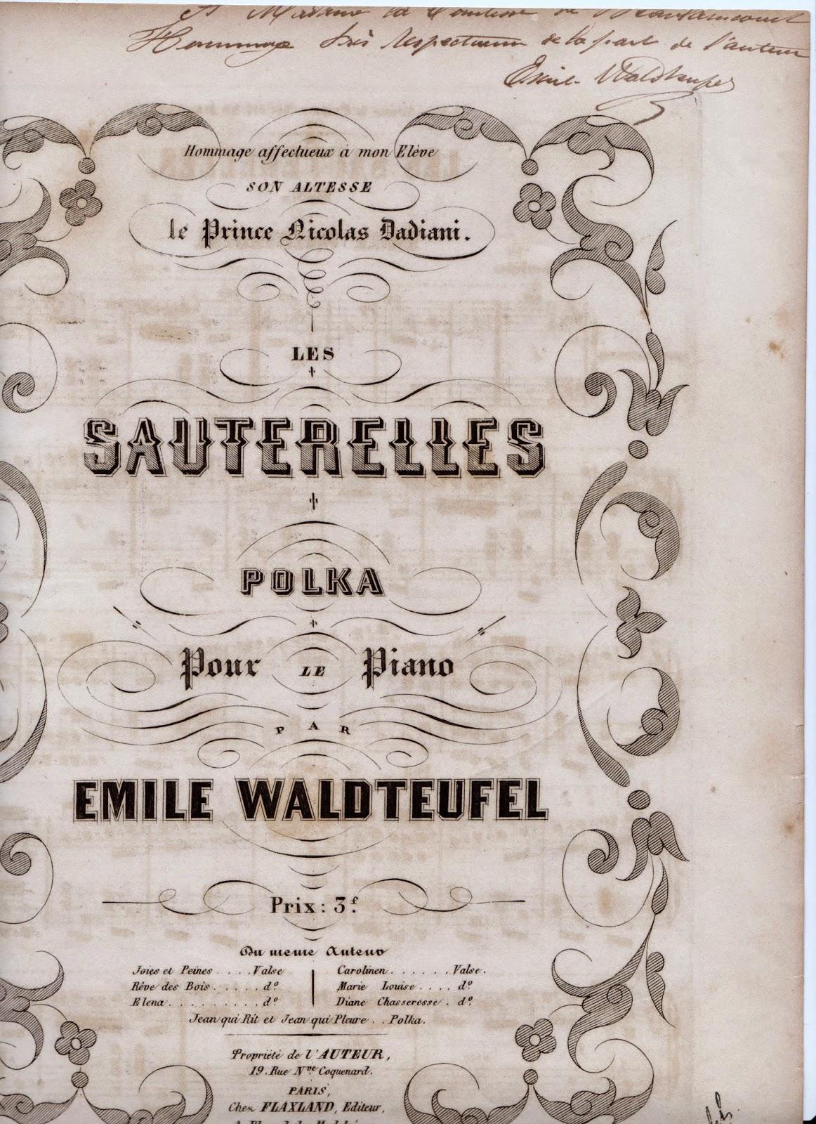 emile waldteufel biographie