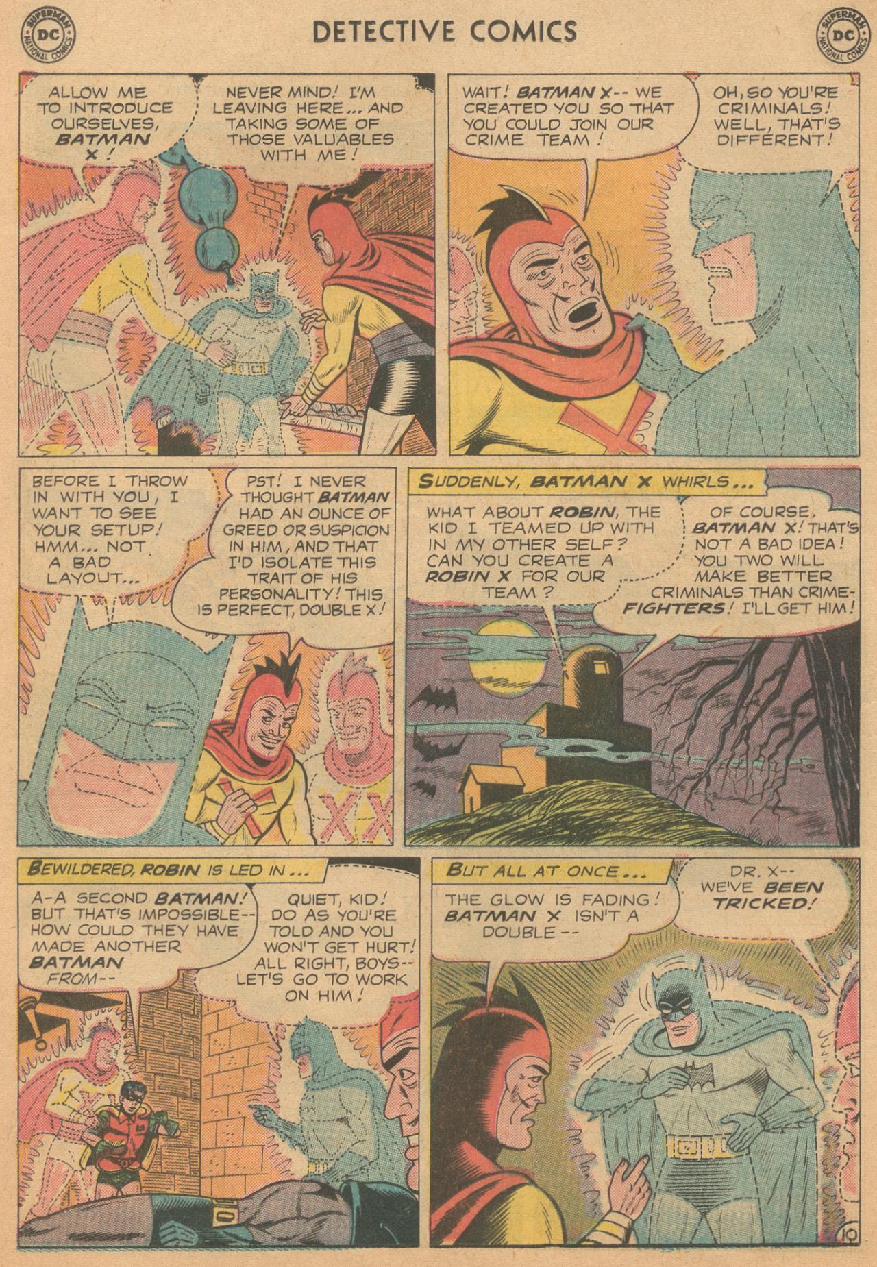 Read online Detective Comics (1937) comic -  Issue #261 - 12