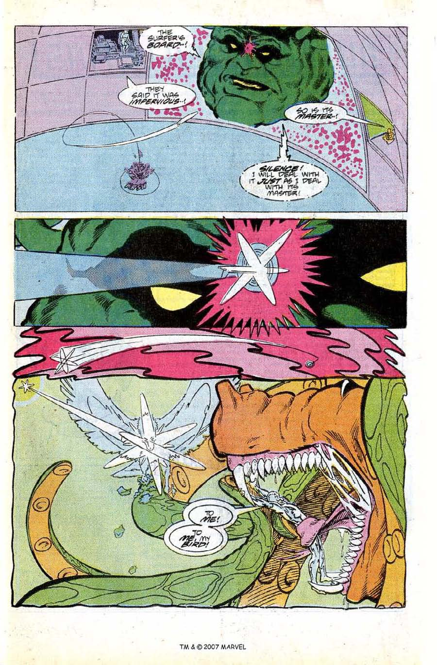 Read online Silver Surfer (1987) comic -  Issue #8 - 27