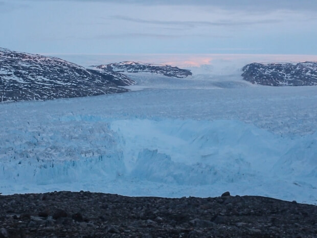 Researchers Capture Long Ice Sheet Collapse Into The Sea In Greenland