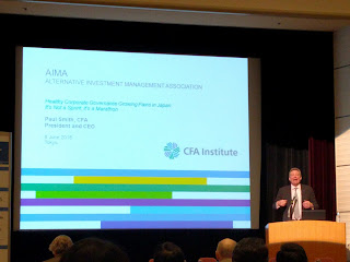 CFA Institutes の CEO は Paul Smith さんといいます。どこかで聞いたことがあるような。。。