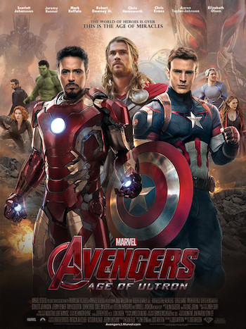 Avengers Age of Ultron 2015 Dual Audio HDRip