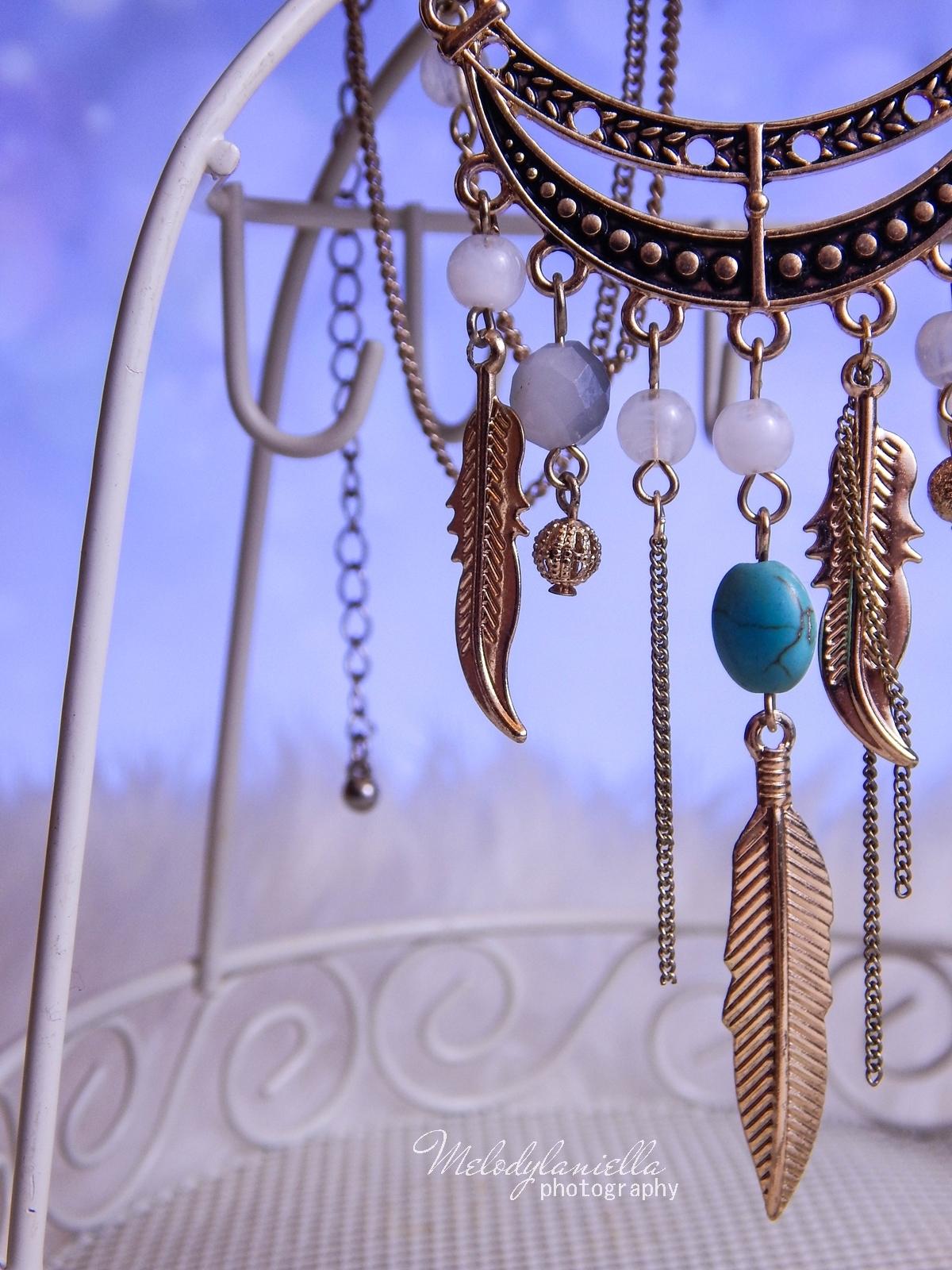8 Biżuteria z chińskich sklepów sammydress kolczyk nausznica naszyjnik wisiorki z kryształkiem świąteczna biżuteria ciekawe dodatki stylowe zegarki pióra choker chokery złoty srebrny złoto srebro obelisk