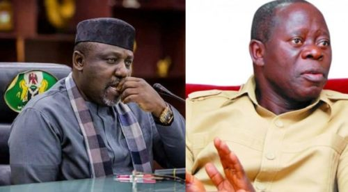 Image result for Why I regret supporting Oshiomhole to become APC National Chairman – Okorocha