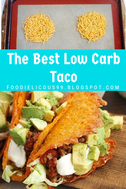 The Best Low Carb Taco