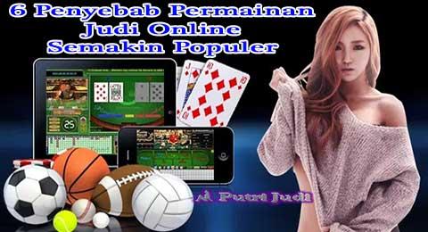 6 Penyebab Permainan Judi Online Semakin Populer
