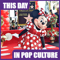 Minnie Mouse on the Hollywood Walk of Fame, January 23, 2018.