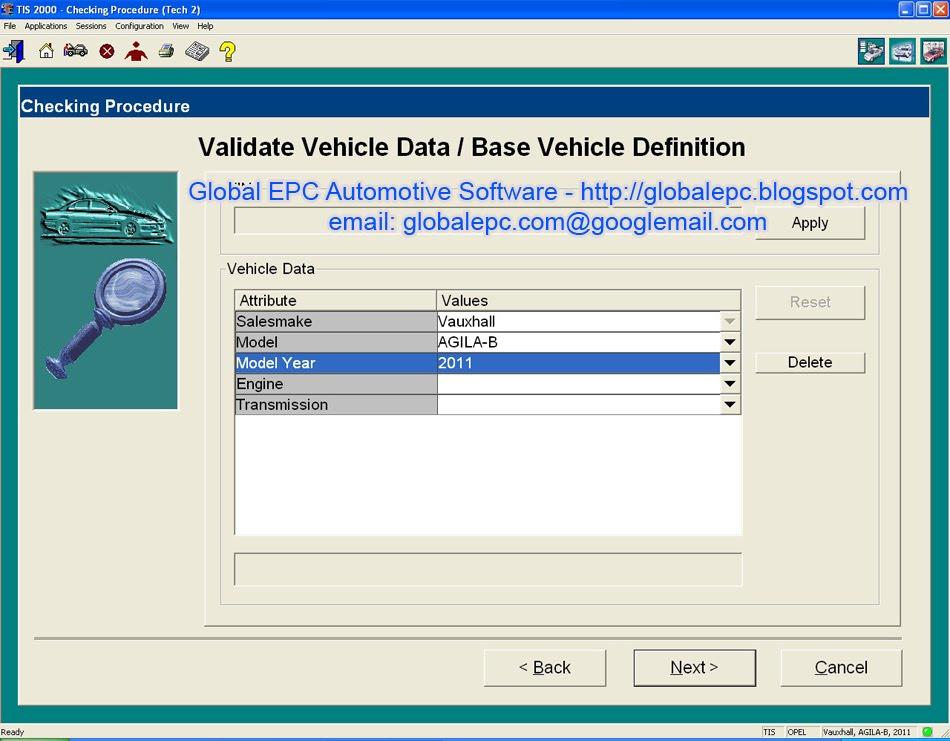 Saab Programming Software