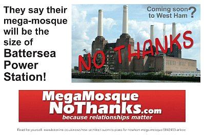 West Ham Mega-mosque