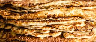 Pancakes with mushrooms