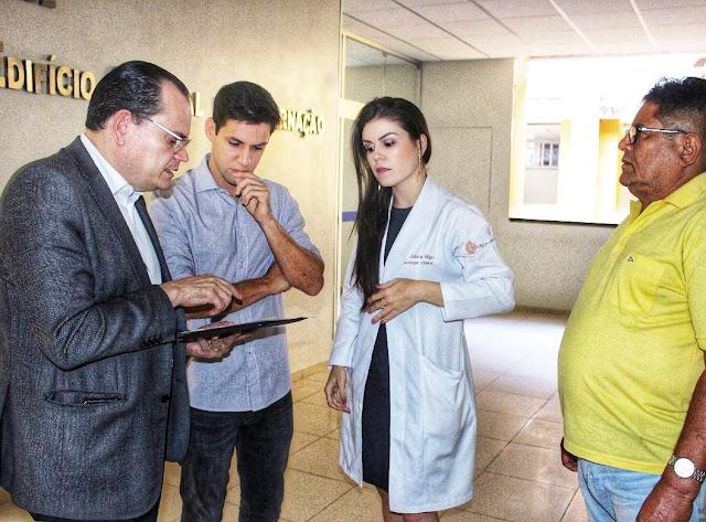 Onofre Lopes recebe emendas para investir em oncologia