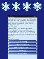 DIY Nasenwärmer Android App - Begrüßungsbildschirm mit Menü
