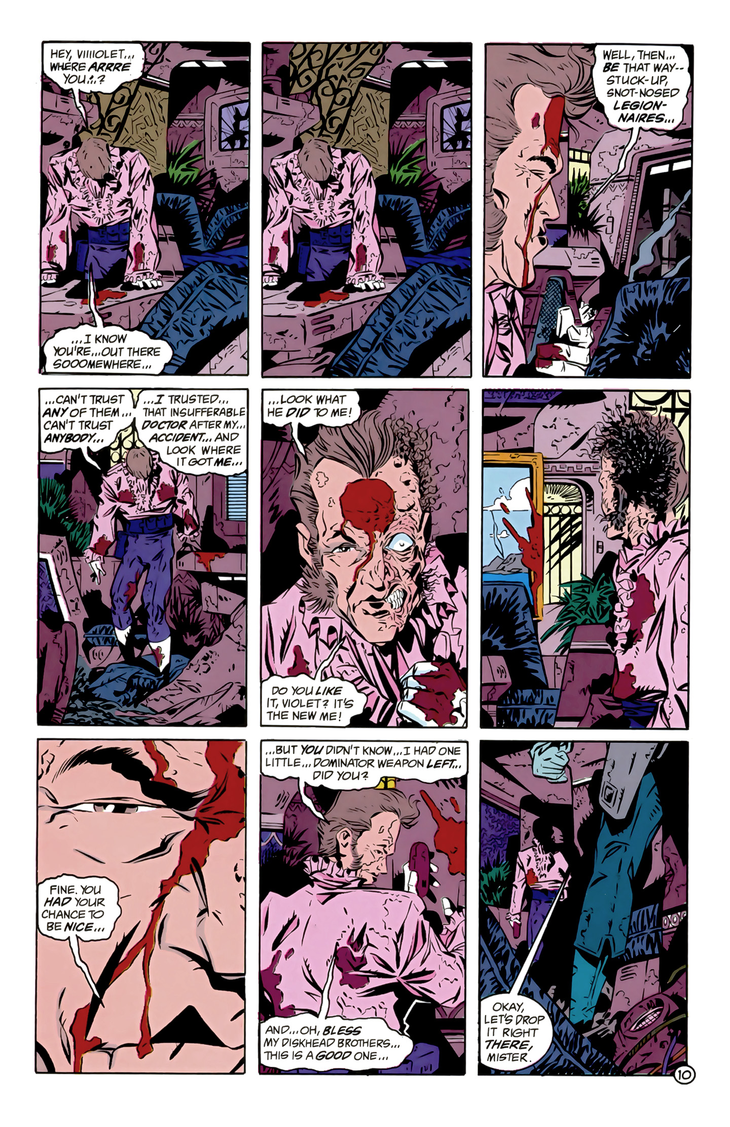 Legion of Super-Heroes (1989) 12 Page 10