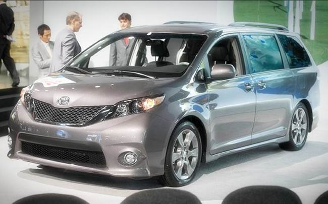 2017 toyota sienna concept review car release and price. Black Bedroom Furniture Sets. Home Design Ideas
