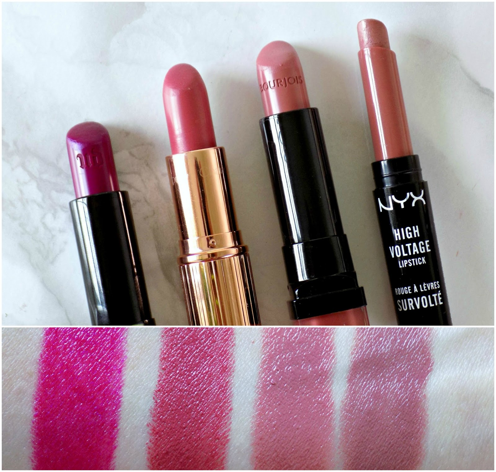 favourite lipsticks