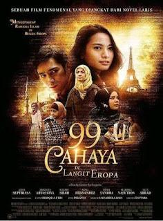 Nonton film Indonesia terbaru 99 Cahaya Di Langit Eropa 2013