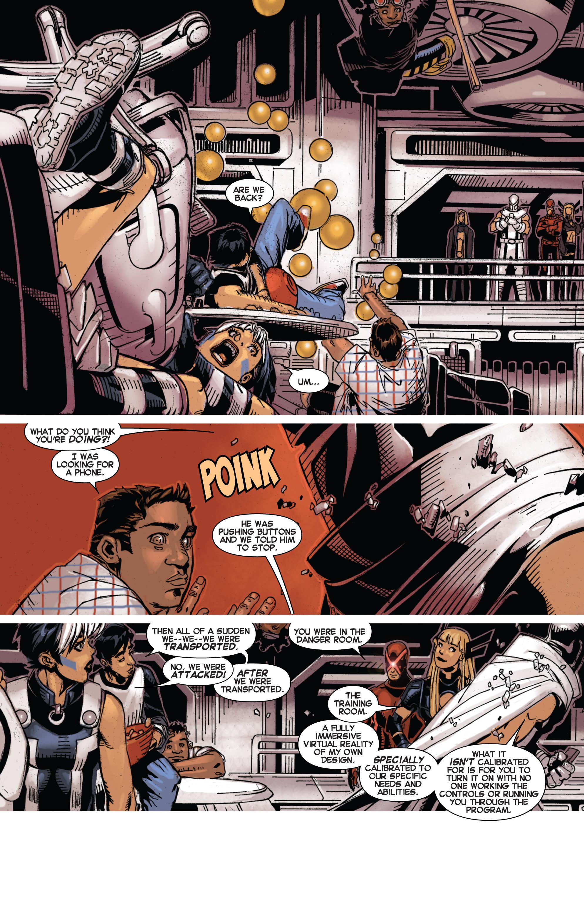 Read online Uncanny X-Men (2013) comic -  Issue #4 - 14
