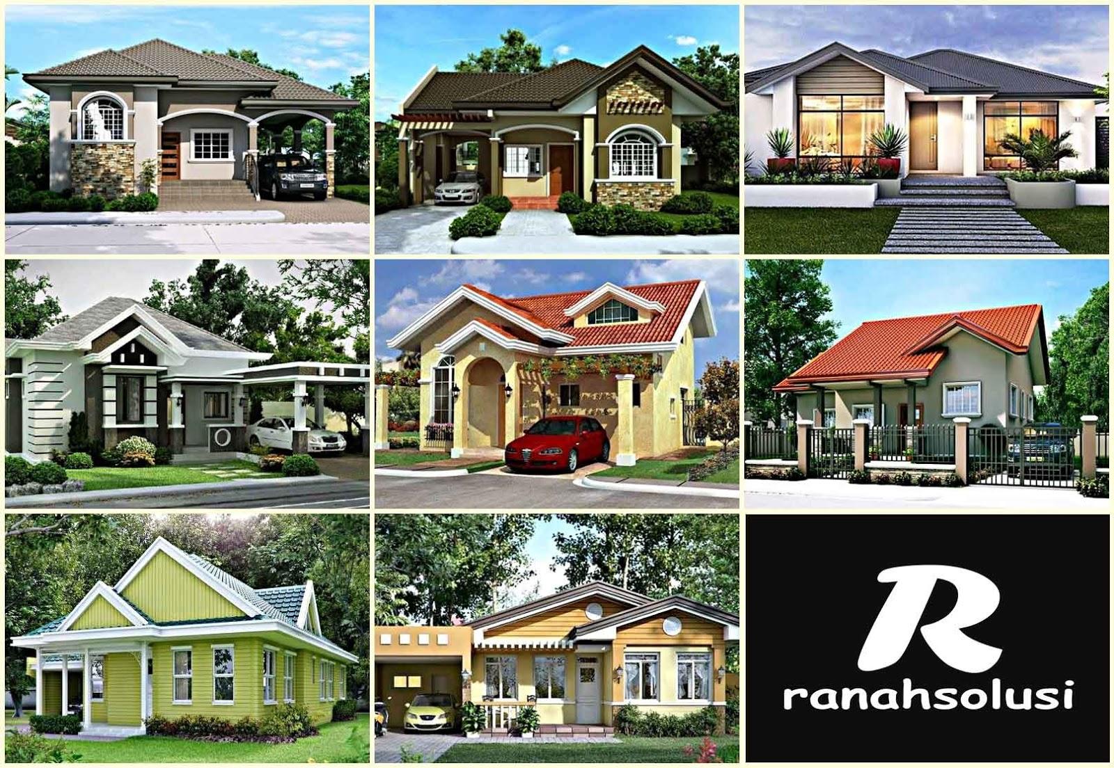 8 Contoh Desain Rumah Minimalis Biaya 100 Juta Terbaru Dan Modern