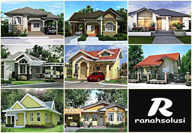 Gambar Desain Rumah Minimalis Biaya 100 Juta