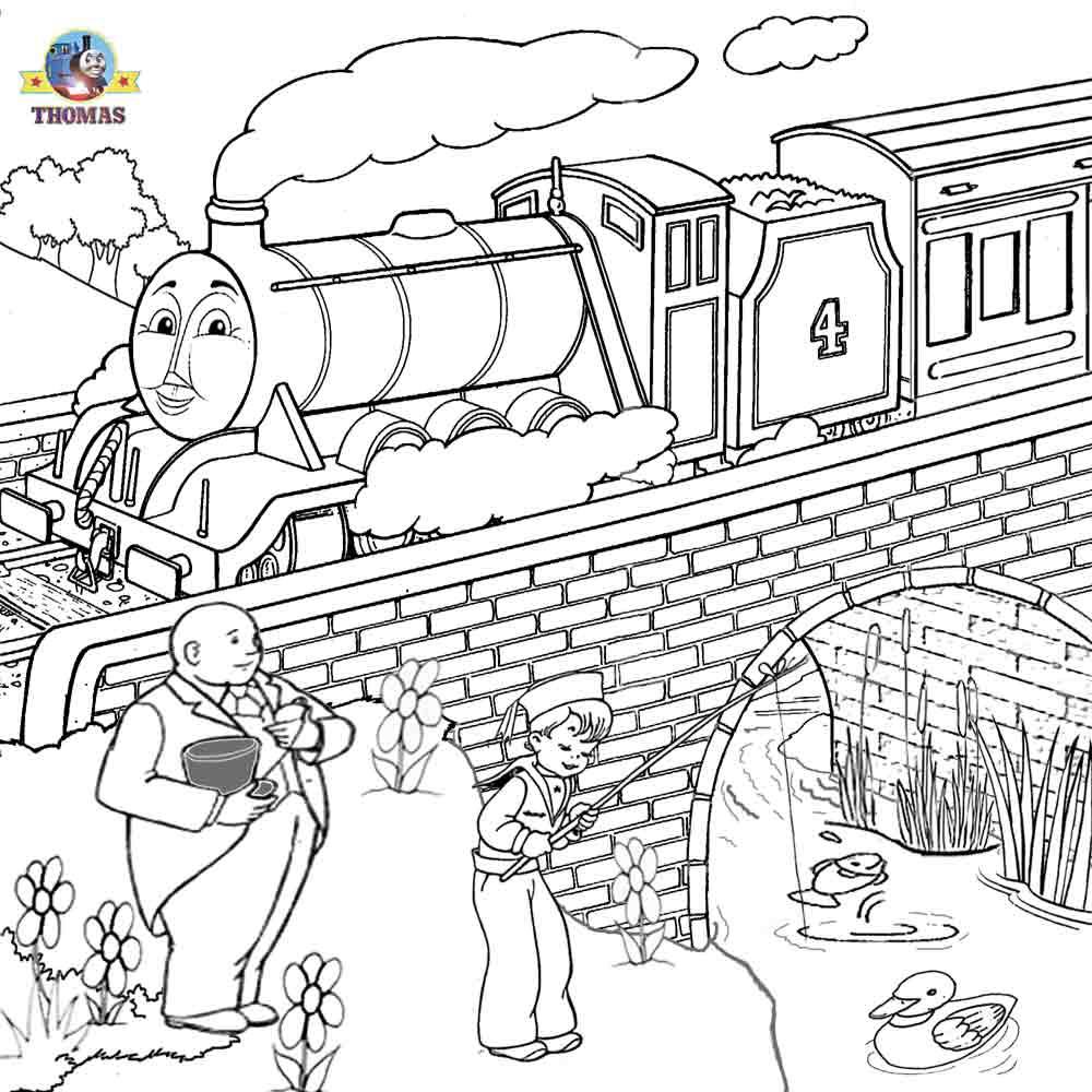 Thomas The Tank Engine Line Art, Thomas, Free Engine Image