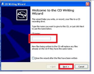 How to Burn CD/DVD Without Any Software