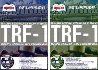 Apostila concurso TRF 1ª região 2017