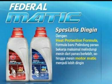 Federal Matic, Teman Setia Motor Matic Ku.