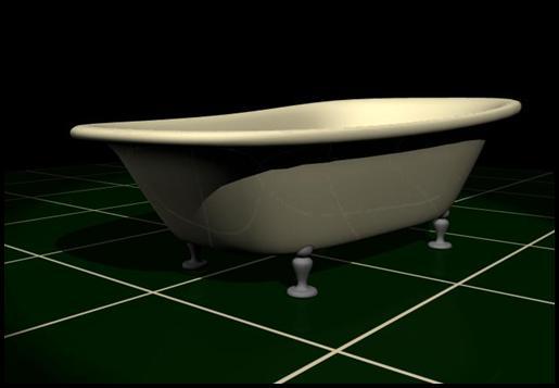 Unity Game Development : Building A Bathtub using NURBS Modeling