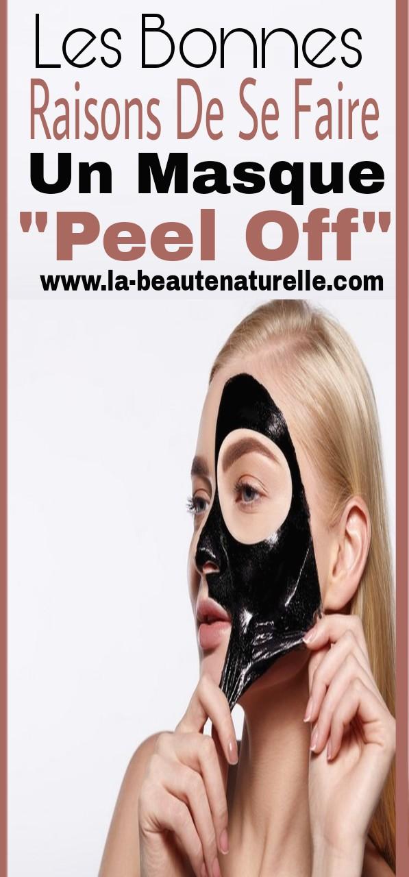 """Les bonnes raisons de se faire un masque """"peel off"""""""