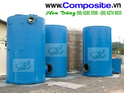 Bồn chứa hóa chất các loại - 5m3