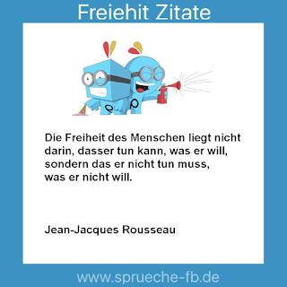 Jean-Jacques Rousseau Zitate