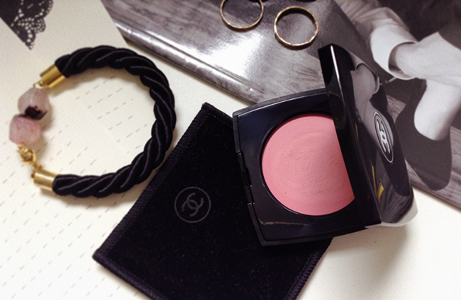 CHANEL Le Blush Crème de CHANEL Cream Blush in Inspiration (64) aimerose blog review