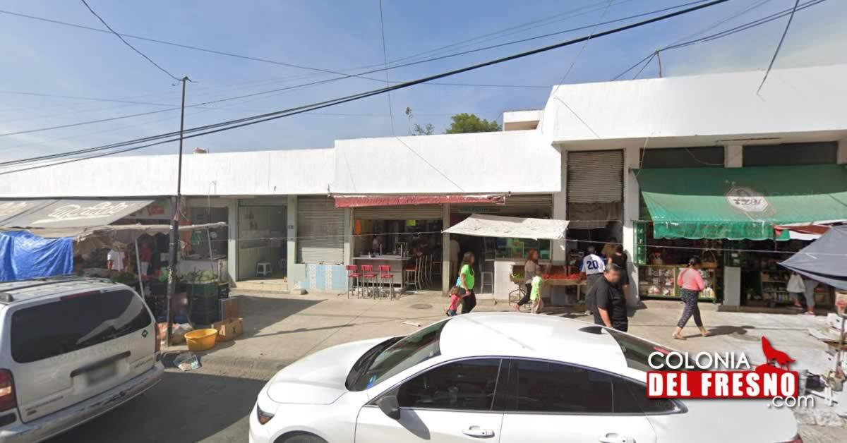 Entrada del Mercado Municipal Adrian Puga Guadalajara