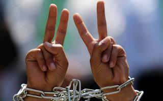 110000 سجين فلسطيني منذ بدء انتفاضة الأقصى