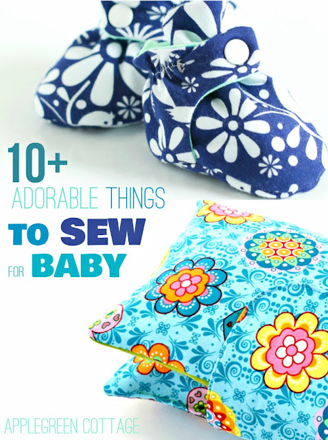 things to sew for baby with beginner sewing patterns