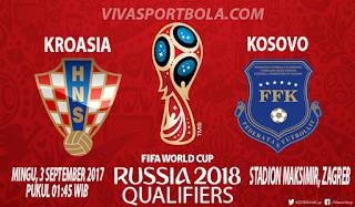 Prediksi Kroasia vs Kosovo 3 September 2017