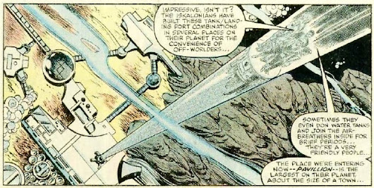 "208. 1983 - (May) - Mary Jo Duffy - Star Wars #74 - ""The Iskalon Effect "" (SW #82)"
