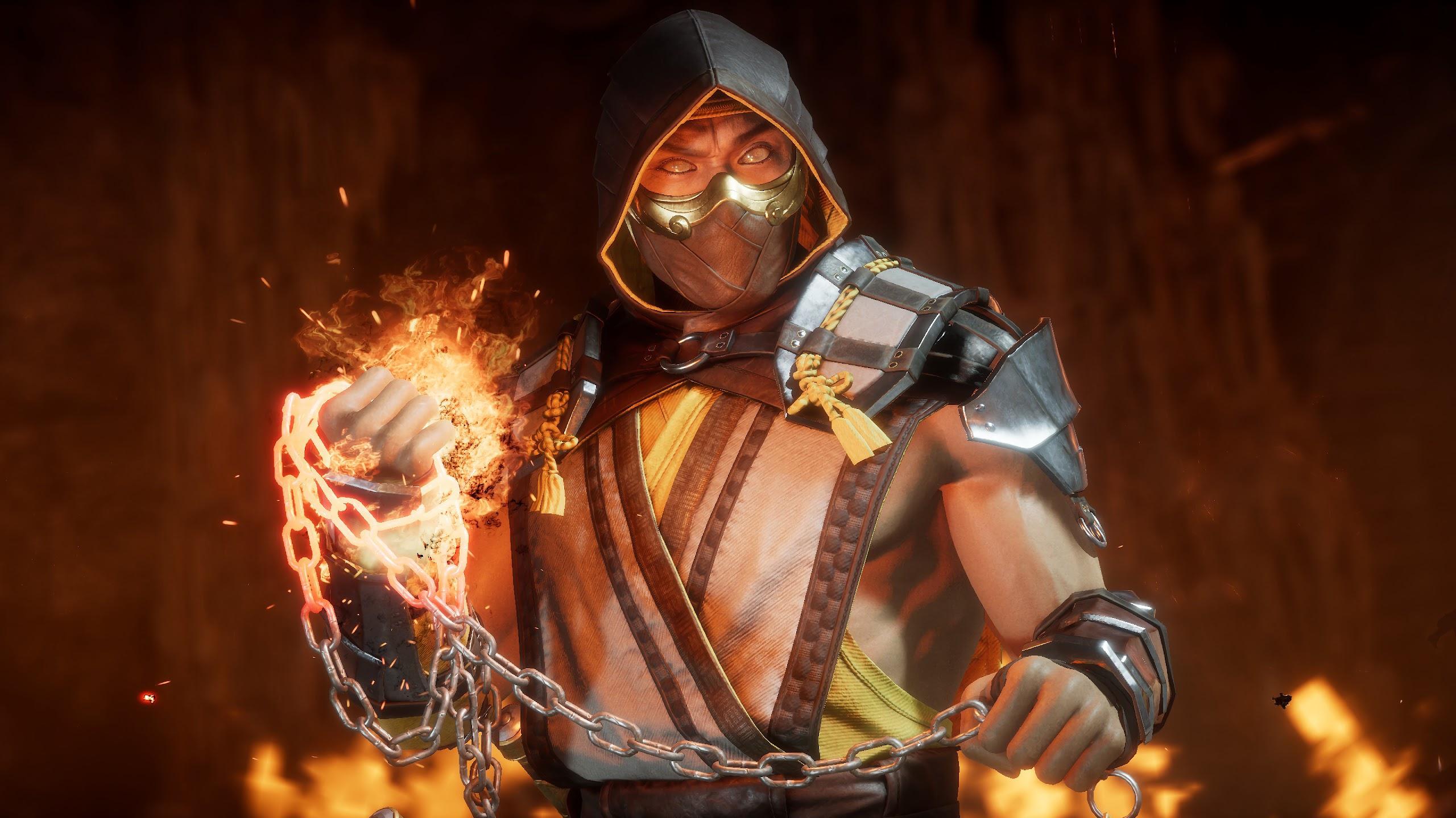 Scorpion, Mortal Kombat 11, 4K, #163 Wallpaper