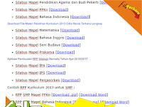 Download RPP dan Silabus SMP Kelas VII, VIII, IX Kurikulum 2013 Gratis