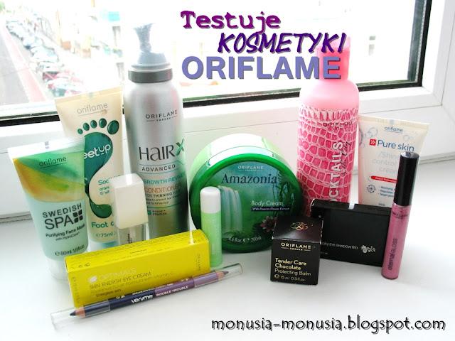 Testuję Kosmetyki ORIFLAME